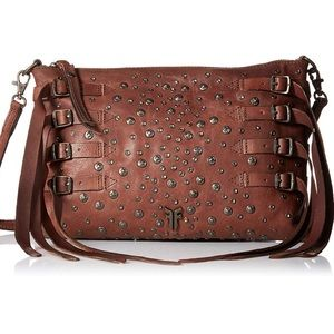 FRYE studded crossbody bag